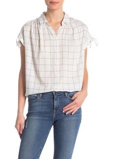 Madewell Central Tie Sleeve Shirt