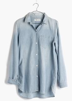Chambray Ex-Boyfriend Shirt in Buckley Wash