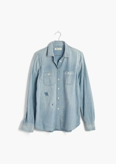 Chambray Rip and Repair Shirt