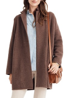 Madewell Chilton Sweater Coat