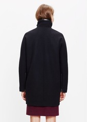 Madewell city grid coat