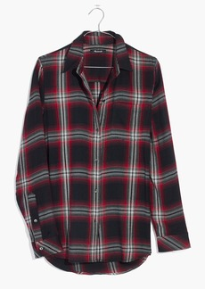 Madewell Classic Ex-Boyfriend Shirt in Rollins Plaid