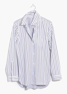Madewell Classic Ex-Boyfriend Shirt in Stripe-Mix