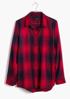 Madewell Classic Ex-Boyfriend Shirt in Wilder Plaid