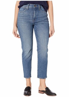 Madewell Classic Straight Jeans in Coldbrook Wash