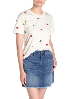 Madewell Confetti Floral Easy Crop Tee (Regular & Plus Size)