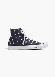 Madewell Converse® Chuck Taylor All Star High-Top Sneakers in Denim Daisy
