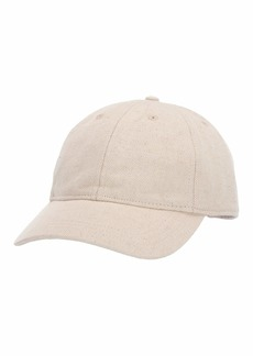 Madewell Cotton-Linen Baseball Cap