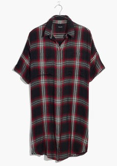 Courier Shirtdress in Rollins Plaid
