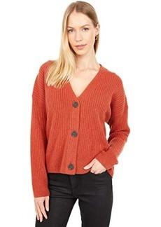 Madewell Cameron Ribbed Cardigan Sweater in Coziest Yarn