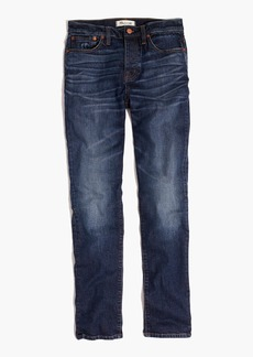 Cruiser Straight Crop Jeans in Shane Wash