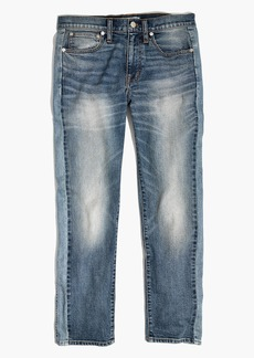Cruiser Straight Crop Jeans: Pieced Edition