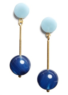 Madewell Curveball Drop Earrings