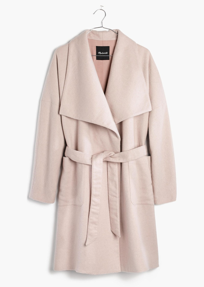 Madewell Delancey Blanket Coat