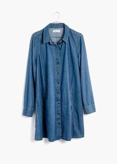 Denim A-Line Shirtdress