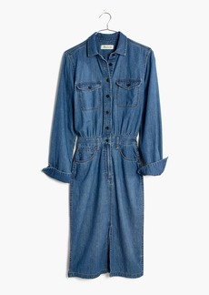 Madewell Denim Midi Shirtdress