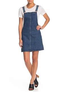 Madewell Denim Overall Mini Dress
