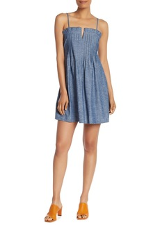 Madewell Denim Pintuck Tank Dress