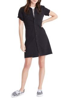 Madewell Denim Waisted Shirt Dress