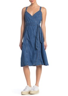 Madewell Denim Wrap Dress