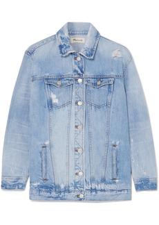 Madewell Distressed denim jacket