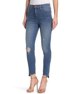 Madewell 10-Inch Drop Step Hem High Waist Skinny Jeans (Regular & Plus Size)