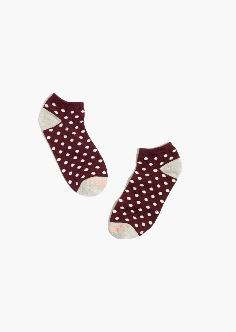Madewell Dot-Mix Anklet Socks