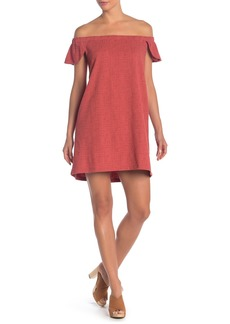 Madewell Eloise Off the Shoulder Dress