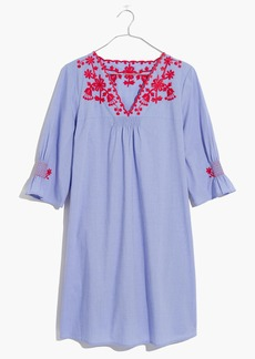 Embroidered Breeze Dress