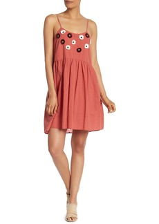 Madewell Embroidered Floral Dress