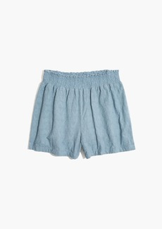 Madewell Embroidered Kingston Cover-Up Shorts