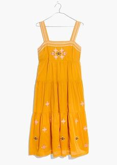 Embroidered Primrose Dress