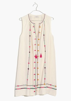 Madewell Embroidered Sunview Dress