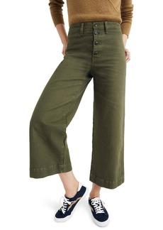 Madewell Emmett Crop Wide Leg Pants (Regular & Plus Size)
