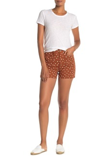Madewell Emmett Inkspot Dots Patch Pocket Shorts