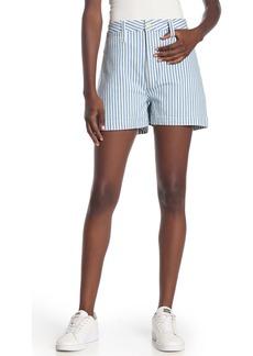Madewell Railroad Stripe Emmett Shorts
