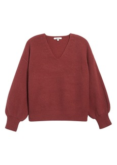 Madewell Thornton Balloon Sleeve Sweater (Regular & Plus Size)