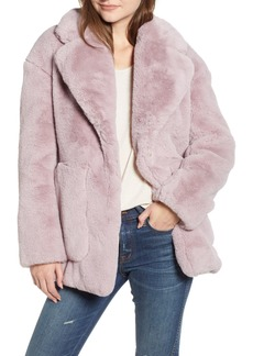 Madewell Faux Fur Coat