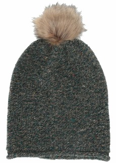 Madewell Faux Fur Pom-Pom Beanie