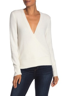 Madewell Faux Wrap Pullover Sweater (Regular & Plus Size)