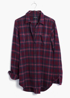 Madewell Flannel Classic Ex-Boyfriend Shirt in Jensen Plaid