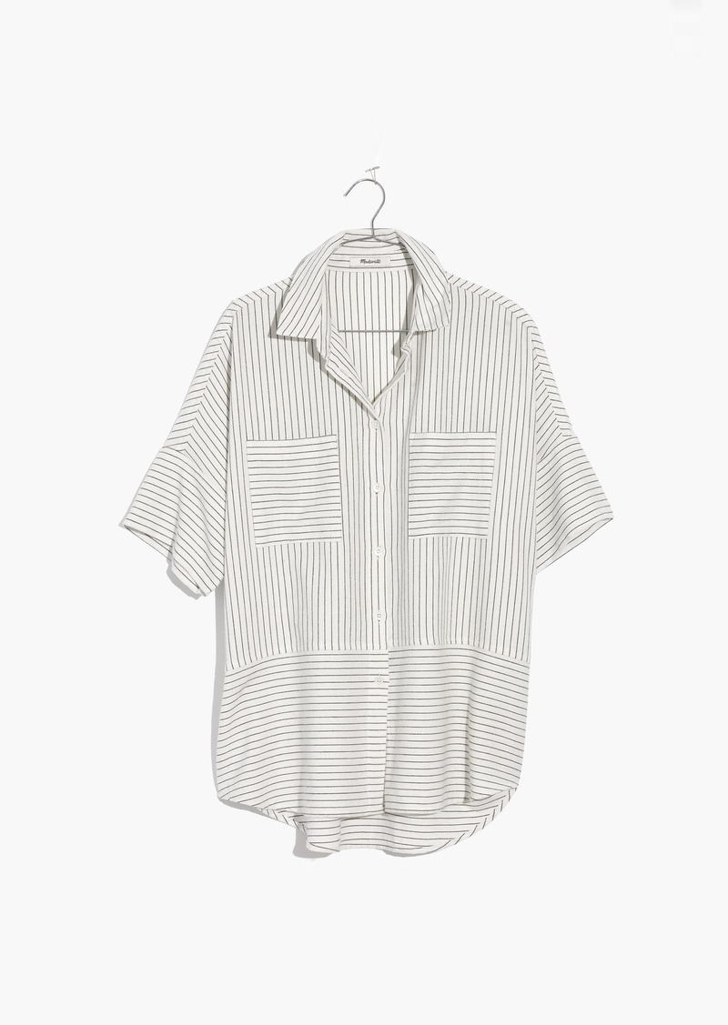 a1675445 SALE! Madewell Flannel Courier Shirt in Stripe