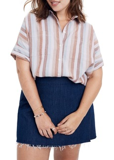 Madewell Flannel Courier Shirt (Regular & Plus Size)