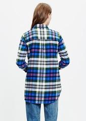 Madewell flannel ex-boyfriend shirt in larchmont plaid