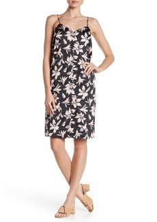 Madewell Floral Button Down Shift Dress