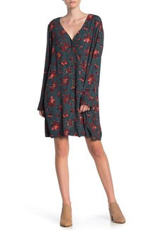 Madewell Floral Button Front Easy Dress