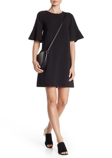 Madewell Flutter Sleeve Shift Dress