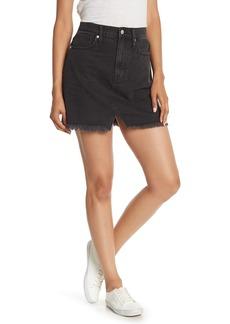 Madewell A-Line Miniskirt