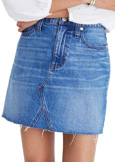 Madewell Frisco Denim Mini Skirt