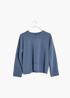 Madewell Garment-Dyed Seamed Sweatshirt